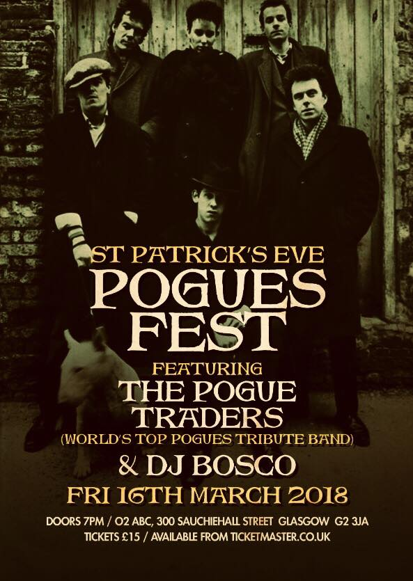 The Pogue Traders - Pogues tribute band